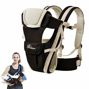 Front Facing Baby Carrier 4 in 1 Infant Sling Comfortable  Backpack Pouch Wrap