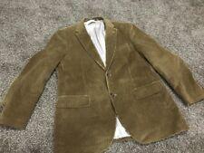 Mens Dockers Brown Tan Corduroy Sport Coat Jacket Work Blazer Western