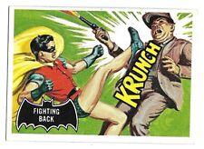 66 BATMAN TOPPS FIGHTING BACK BLACK BAT 1966 NO 30 NRMINT+ 5041