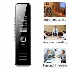 Grabadora de Voz Digital USB MP3 Reproductor Sonido Voice Recorder Dictafono