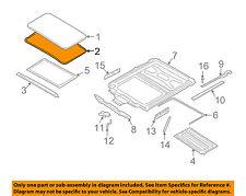 BMW OEM 03-08 760Li Sunroof Sun Roof-Weatherstrip Seal 54137028568