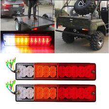 20 LED Tail Light Car Truck Trailer Stop Rear Reverse Turn Indicator Lamp Light`
