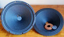 Vintage JENSEN P10R  Donal Kapi PAPER Speaker Cones W/ Spider + Dust Cap! P10Q