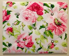 Floral French Memory Board Waverly Shabby Chic French Memo Board Vision Board