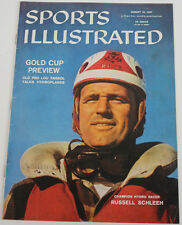 Russ Schleeh 1957 Sports Illustrated No Label Hydro 8/12/57 Ex 15485