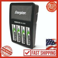 Energizer CHVCMWB-4 Rechargeable AA and AAA Battery Charger NiMH Recharger Value