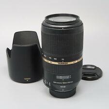 Tamron SP A005 70-300mm f/4.0-5.6 Di VC USD Lens For Nikon - Read Description