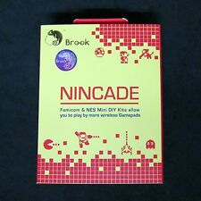 Brook NinCade Wii Remote, PS4, ect.. Wireless Controller for to Nes Classic Mini