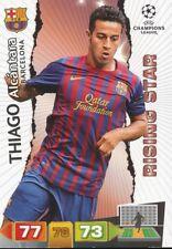 THIAGO ALCANTARA ESPANA FC BARCELONA CARD ADRENALYN CHAMPIONS LEAGUE 2012 PANINI