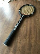 CRAZY RARE black finish TROPHY 6000 tennis racquet M4 in tact strings !!!!!