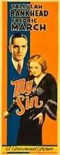 My Sin 14x36 Insert Movie Poster Replica
