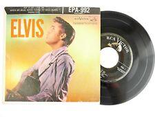 RARE Elvis Presley Elvis Vol 1 EPA 992 Vinyl Record Silver Line 45 EP