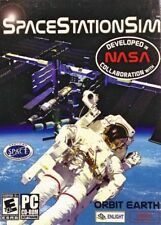 Space Station Sim Pc Brand New Cd Rom Only In A Paper Sleeve XP