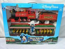 Disney Parks Exclusive Railroad Train Set with Mickey Mouse & friends / new
