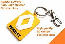 Porte clé RENAULT keychain key ring Clio Sport RS gomme PVC Schlüsselanhänger
