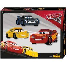 Disney Cars 3 Bügelperlen Set, Hama 7951, Bügel Perlen midi ca. 4000 Perlen