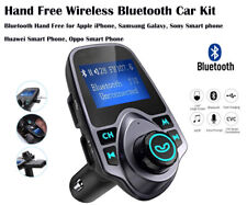 Handsfree-Wireless-Bluetooth-Car-FM-Transmitter Radio MP3 Player USB Charger