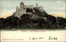 Sacavém Portugal Portuguesa AK ~1900 Cintra Real Castello da Pena Festung Burg