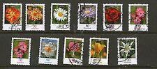 Flowers Used Postage German & Colonies Stamps
