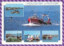 Postkarte - L'Sting über Meer, Die Fehler-S-Meer