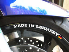 STICKER LISERET JANTE MADE IN GERMANY R1150 1200RT K1200 S1000RR F800R