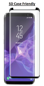 5D Tempered Glass Screen Protector For Samsung Galaxy NOTE 8 (CASE FRIENDLY)