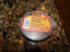 New listing Red 35 Scotch Vinyl Electrical Color Coding Tape, 3/4 in x 66 ft,