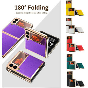 For SamsungGalaxyZFlip35G Lightweight Anti-drop Luxury Fold Phone Case Cover
