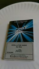 Kool & The Gang As One DCR4-8505 cassette tape Street Kids Big Fun Pretty Baby