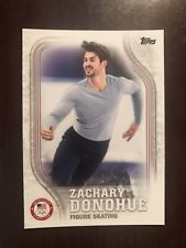 2018 Topps U.S. Olympic Team #US-24 - Zachary Donohue - Figure Skating
