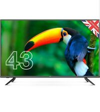"""Cello ZBVD02334 43"""" inch Full HD LED TV with built-in Freeview HD 2020 Model UK"""