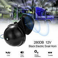 Buhui Car Horn 300DB 12V//24V Electric Air Horn Loud Clear Sound Replacement For Raging Car Truck Boat Train