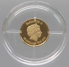 FIJI 10 DOLLARS 2011 GOLD PROOF   #z1 043