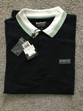 Bnwt Barbour Mens Polo Shirt Navy Xlarge