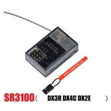 2.4GHz SR3100 DSM2 DX2E 3CH Surface Receiver for Spektrum Transmitter New
