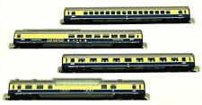 Arnold 0144 – 4-teiliges Rheingold-Wagen-Set der DB