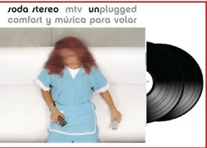 Soda Stereo - COMFORT Y MUSICA PARA VOLAR MTV UNPLUGGED (New 2 LP Sealed Vinyl)