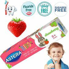 Baby 0+ Toothpaste Gel Strawberry Flavour, Free of Sugar, Fluoride & Paraben, 50