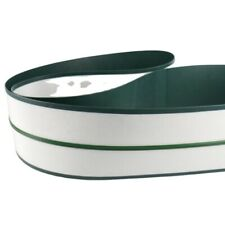 Small Dark Green Pu Conveyor Belt With Sealing Edge