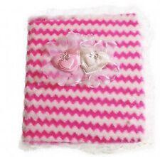 Baby Fotoalbum rosa blau gelb Box NEU hält 160 Bilder Geschenk Taufe
