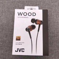 JVC HA-FW8 WOOD DOME HI-RES HEADPHONES NEW ORIGINAL IN EAR EARPHONES
