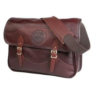 Leather Book Bag Made in America by Duluth Pack