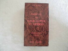 Shakespeare Tarot oder Romeo and Julia Tarot by Scampini, Oracle, Esoterik,