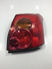 Toyota Avensis DRIVER RIGHT REAR LIGHT T25 2003 TO 2006 Hatchback 89028783 AX