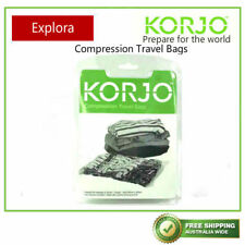 3x Large Korjo Compression Storage Bags Packing Travel Clothes Spacer Bag60x40cm