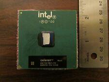 Intel Celeron Processor From Working Equipment No Bent Pins