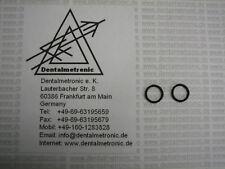 2x  O-Ringe O-Ring für Sirona*  W&H* Rotor Turbine