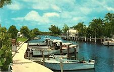 "Moored Boats, ""One of the Fishingest Places On Earth"", Port Salerno FL"