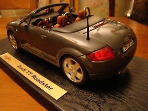 1/18 Audi TT Roadster Grey 5V Rare
