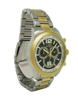 Invicta Specialty 0080 Men's Round Chronograph Date Black Gold Tone Analog Watch